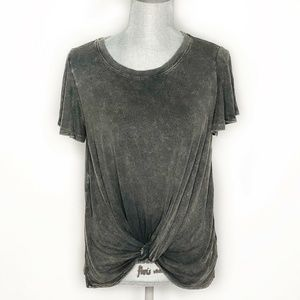 Altar'd State Top Short Sleeve Front Knot (BB26)